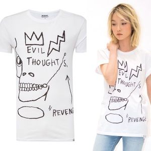 ElevenParis x Basquiat SS16 Evil Thoughts Shirt